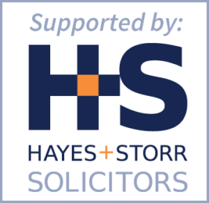 Supported by Hayes and Storr Solicitors